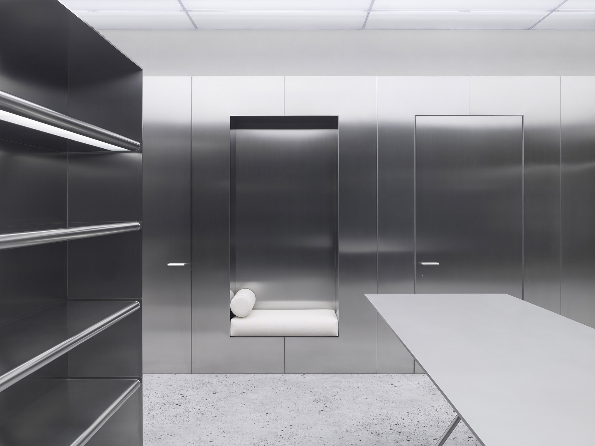 acne studios illum stergade 52 copenhagen christian haller d design. Black Bedroom Furniture Sets. Home Design Ideas